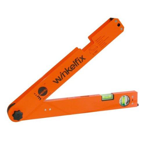 NEDO GMBH & CO.KG 450111 Winkelmessgerät Mini L.430mm m.Wasserwaage NEDO Messb.0-180Grad