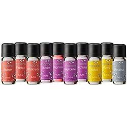 Duftöl Set - Wunderbare Welt der Düfte No. 1 - 10x feiner Raumduft - Aromaöl für Duftlampe und Diffuser von miaono