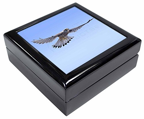 Flying Kestrel Bird of Prey Andenken/Schmuck Box Weihnachten Geschenk (Flying Birds Home Decor)