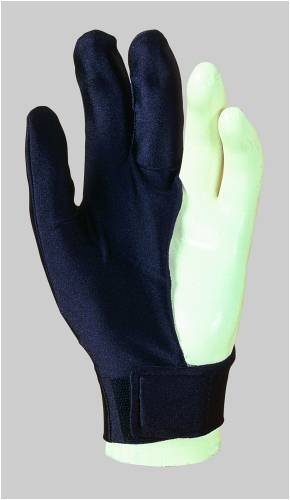 Billardhandschuh Laperti mit Klettverschluß für linke Hand. Art_209502a