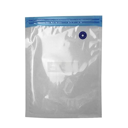 Preisvergleich Produktbild LouiseEvel215 Praktisches Design Tragbarer Vakuumierer Vakuumbeutel für die Aufbewahrung von Lebensmitteln Wiederverwendbarer Lebensmittelverpackungs-Organizer für die Küche zu Hause