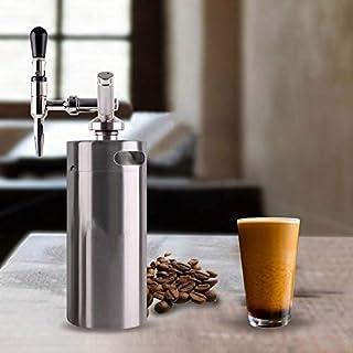 YFDZZSP Unze Nitro Kaffee Maker Edelstahl Mini Bar Zubehör Tragbare Kaffee Kits