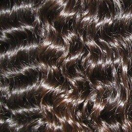 jasnellehair   30,5 cm 35,6 cm & 40,6 cm inches  300 grams  100% Virgin Remy péruviens non traités ondulés Qualité AAAA Couleur n ° 1B cheveux humains