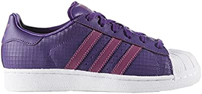 Adidas Youths Superstar F37790 Leather Trainers