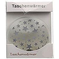 2 x Taschenheizkissen ''Stars'' - kleine Sterne Silber | Taschenheizkissen Kinder | Geschenk für Frauen | Handwärmer... preisvergleich bei billige-tabletten.eu