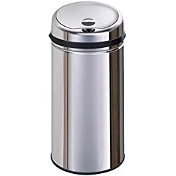 KITCHEN MOVE BAT-42LB AS Design Originale Poubelle Sensor Automatique Inox Capacité 42 Litres