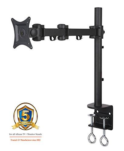 Serie C-clamp (AM11S Single LCD Monitor Desk Mount Bracket for 15