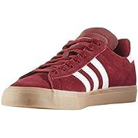 best service 36300 9c235 adidas Skateboarding Campus Vulc II ADV, collegiate burgundy-ftwr white-gum4