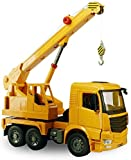 Pkjskh Manual de automóvil desplazándose Transporte Vehículo Ingeniería Dump Truck Manual de Ingeniería de Modelos deslizamiento juguete modelo carro de la ingeniería brazo de la grúa coche infantil