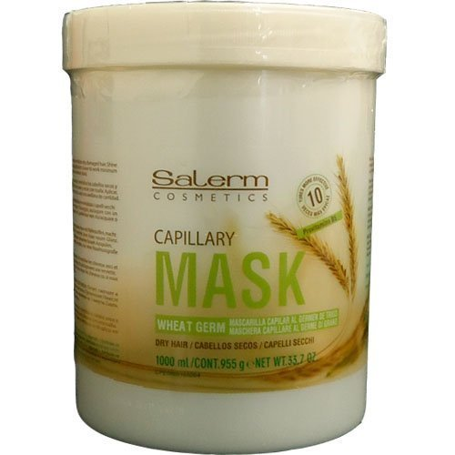 Salerm Wheat Germ Conditioning Treatment 1000ml Sale! by Salerm (English Manual)