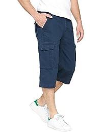d4e5cd806a0dee La Redoute Collections Uomo Pantaloni A Pinocchietto Cargo Arnaud Puro  Cotone