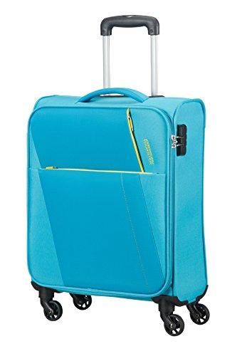 AMERICAN TOURISTER Joyride - Spinner 55/20 Equipaje de mano, 55 cm, 37.5 liters, Azul (Hawaii Blue)