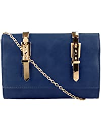 U-NIK Trendsetter Exclusive Imported Leatherette Womens Sling Bag - Blue