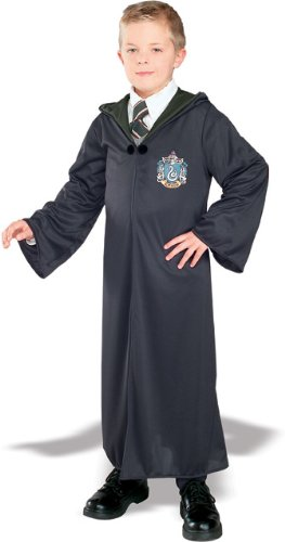 eathly Hallows Slytherin Robe Costume Child Medium (Slytherin Mädchen Kostüme)