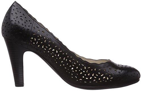 Gerry Weber Fabienne 14, Chaussures à talons - Avant du pieds couvert femme Noir - Noir
