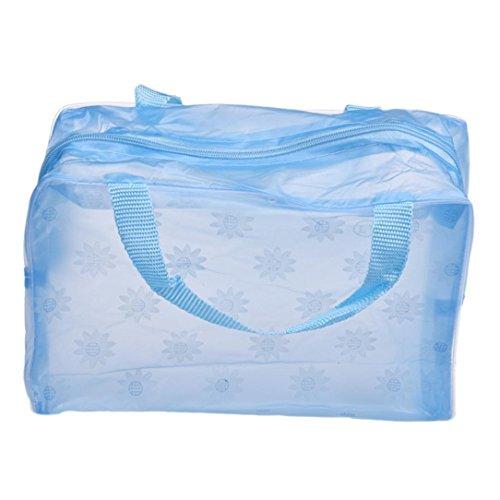 zycShang Sac d'organisateur portatif de poche de brosse à dents de lavage de voyage de toilette cosmétique de maquillage (B)