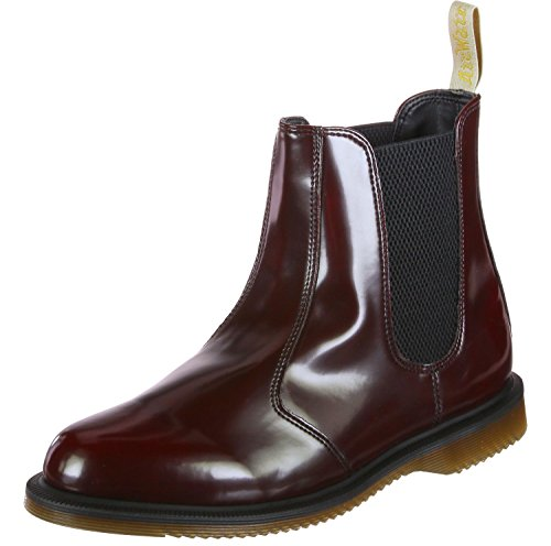 Dr. Martens Flora Polished Smooth W Stiefel Cherry Red
