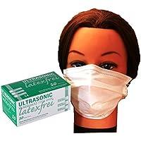 OP-Mundschutz und Nasenschutz LATEXFREI mit Bügel 50 Stück Unigloves Profil preisvergleich bei billige-tabletten.eu