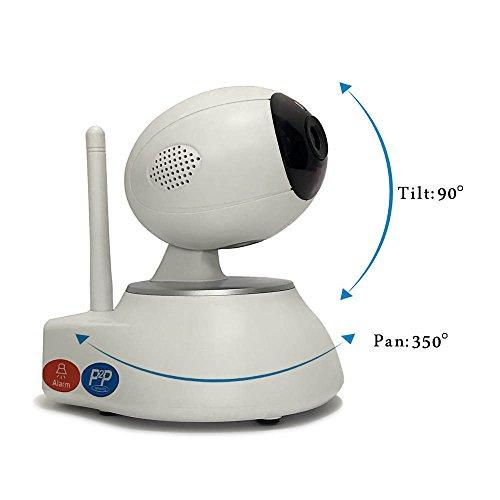 Smart Alarm System Baby Monitor, integriertem Mikrofon und sprechen, Bewegungserkennung, Home Security Kamera TF-Karte, direkt zu IOS Android, P2P, IR-Nacht-Vision Digitale Nacht Vision Webcam
