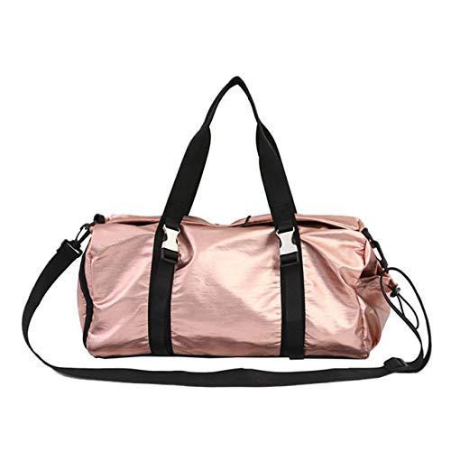 Miles Sail Glitter Gym Bag Fitness Taschen für Frauen Männer Yoga Matte Tas Training DRT Wet Sac De Sport Gymtas Reisen Handtaschen Sport Bolso XA175A, pink - Frauen Nike Glitter