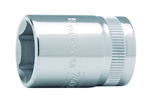 Bahco SB7400SM-19 IRSB7400SM-19 Douille, Argent, 19 mm