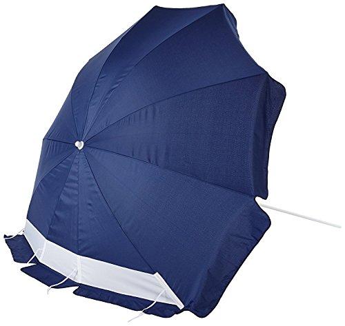 Explorer - Parasol de playa azul azul Talla:240 cm