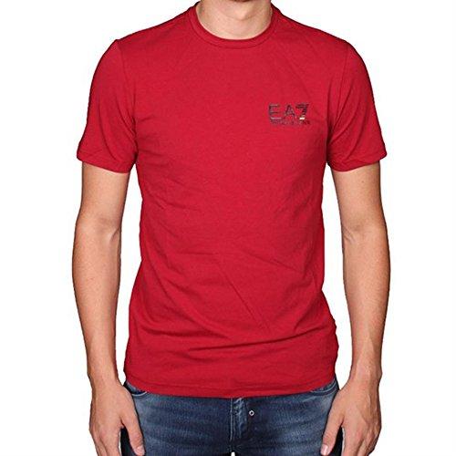 Emporio Armani EA7 t-shirt maglia maniche corte girocollo uomo rosso EU M (UK 38) 6XPT52 PJ03Z 1470