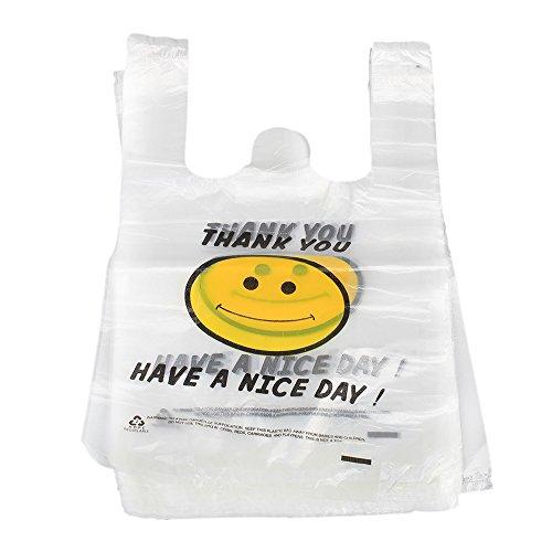 recyclable-de-sacs-cabas-en-plastique-blanc-smiley-souriant-smile-face-lot-de-100-20-x-30cm-blanc