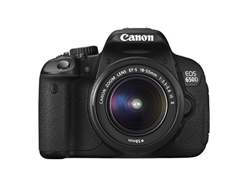 Canon EOS 650D Digital SLR Camera - Black (Inc. 18-55mm for sale  Delivered anywhere in UK