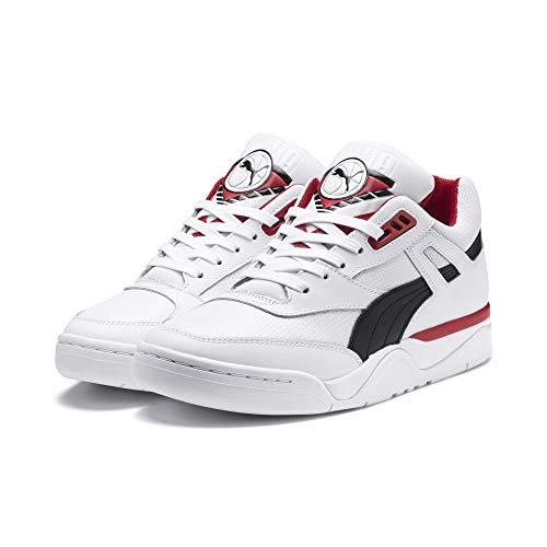 PUMA Palace Guard Sneaker Puma White-Puma Black-red 6 (Guard Sneaker)