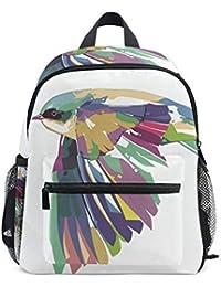 Preisvergleich für DEZIRO Pretty Bird Kinder Büchertasche Schulrucksack Reisetasche