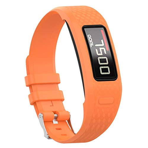 Für Garmin Vivofit 1 Vivofit 2 Uhrenarmband, Silikon Armband - Colorful Zubehör Weich Silikon Gummi Ersatz Uhrenarmband Armband Sport Armband für Garmin Vivofit 1 Vivofit 2