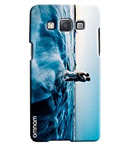 Omnam Couple Making Love In Clouds Printed Designer Back Case Samsung Galaxy A3