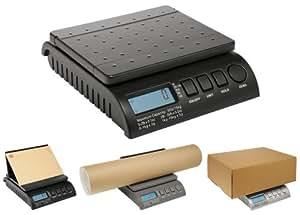 POSTSHIP Digital 20kg 44lb - FROM 1g INCREMENTS - Black Letter Postal / Postage / Parcel / Shipping / Weighing / Packet Scales Scale - 0-1kg/1g 1-5kg/2g 5-20kg/5g