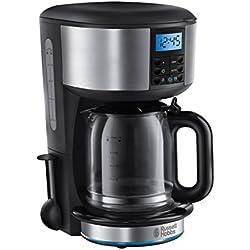 Russell Hobbs 20680-56 Machine à Café, Cafetière Filtre Programmable Buckingham Auto Nettoyante, Cuillère Dosette, Maintien au Chaud