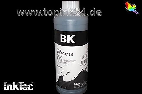 InkTec, encre de pigmentation, encre de recharge Recharge, 750ml, encre Refill Ink d'encre pour cartouches d'encre BK K Noir Noir Canon pgi-1500pgi-2500XL Maxify iB 4000, IB 4050, Mo 2000, Mo 2050, Mo 2300, Mo 2350, Mo 5000, Mo 5050, MB 5300, MB 5350, Maxify iB4050, MB2050, MB2350, MB5050, MB5350pas de 01L/No OEM c5000d _ 750ml 1000ml 1L Black