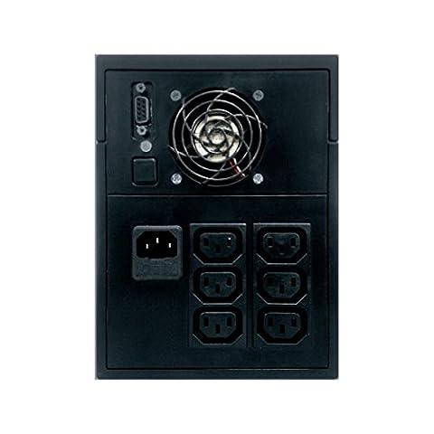 Unterbrechungsfreie Stromversorgung UPS 1500VA/900W LCD einphasig–Serie Glamor–Ablerex