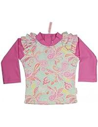 Sun Emporium Girl's Paisley Park Print/Opera Mauve UV Long Sleeve Shirt