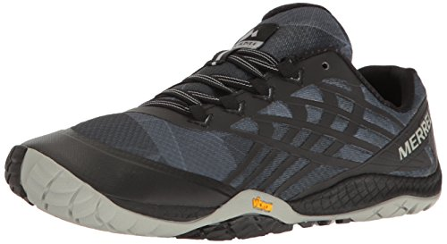 Merrell Women's Glove 4 Trail Running Shoes, Black (Black), 7 UK 40.5...