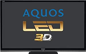 Sharp Electronics LC70LE747E 177,8 cm (70 Zoll) Fernseher (Full HD, Triple Tuner, 3D, Smart TV)
