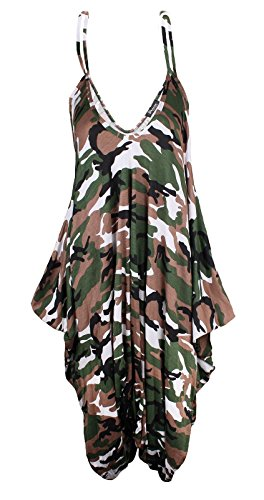 ZET - Combinaison - Femme Army Camoflage