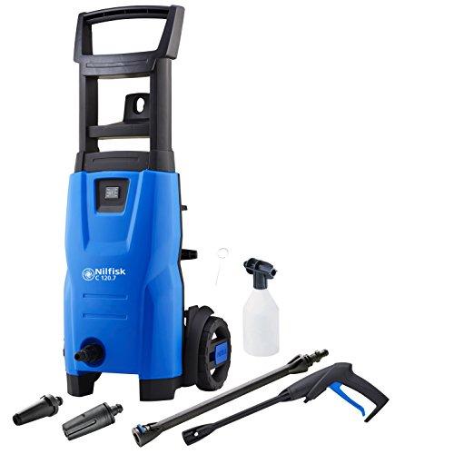 Nilfisk C 120.7–6EU Droit électrique 440L/H 1400W Noir, Bleu Pressure Washer–Nettoyeur haute pression (droit, électrique, noir, bleu, aluminium)
