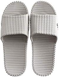 CAI&HONG-Daily GCH Zapatillas de baño para el hogar Baño Antideslizante, H2, 36-37