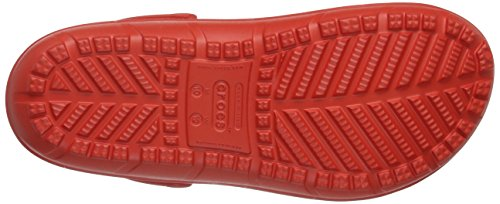 crocs Unisex-Erwachsene Hilo Clog Rot (Flame)