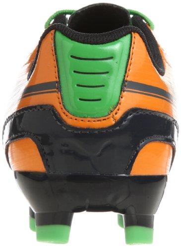 Puma evoSPEED 5 FG Jr 102595, Scarpe da calcio unisex bambino Arancione (Orange (flame orange-team charcoa 02))
