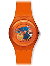 Swatch New Gent - Orangish Lacquered SUOO100