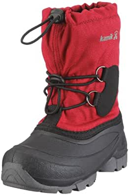Kamik Southpole2 NK8859, Unisex-Kinder Schneestiefel, Rot (red RED), EU 25 (US 8)