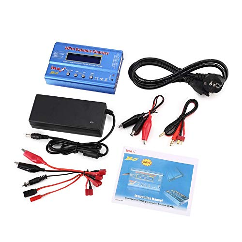 Mouchao iMAX B6 6A 80W Lipo NiMh Battery Balance Charger with 15V/6A AC/DC Adapter