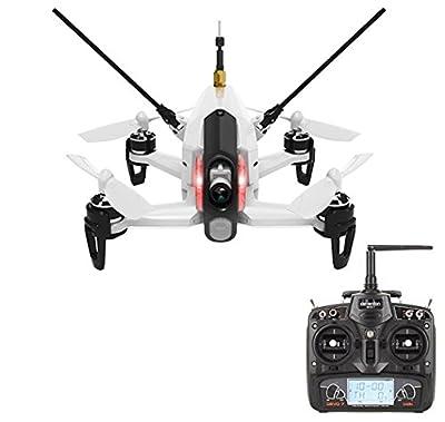 Walkera Rodeo 150 RTF 600TVL Camera DEVO 7 RC Racing Quadcopter - White by Walkera