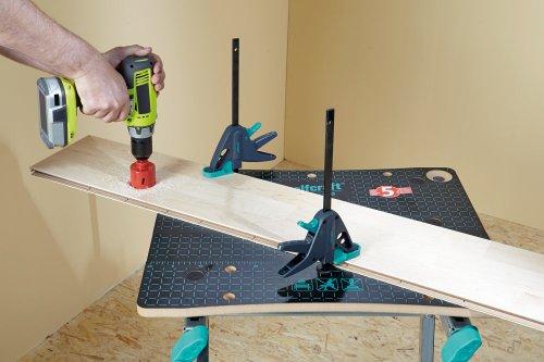 Wolfcraft 1 Werktischspanner / Flächenspanner, 3036000 - 3